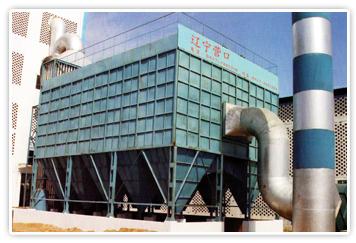 遼寧衡馳礦熱爐LCDM袋式脈沖除塵項目