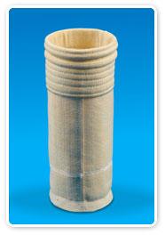 玻纖化纖復合針刺氈濾料--電石硅鐵行業專用濾料(LNFH-Ⅱ型)