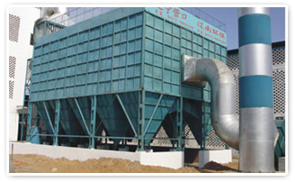 The LCDM -arc furnace pulse bag type dust removal system