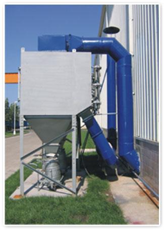 濾筒式單機除塵系統